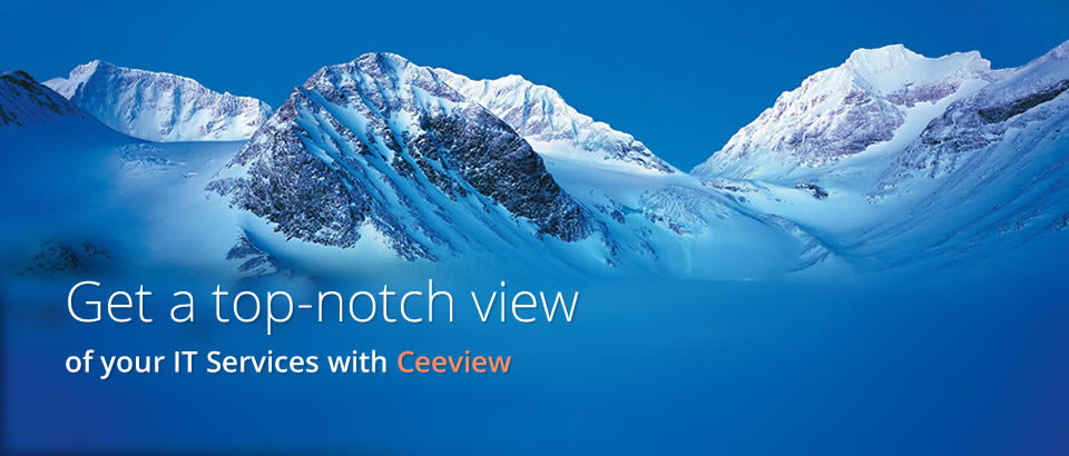 get a top notch view of your IT Services with Ceeview